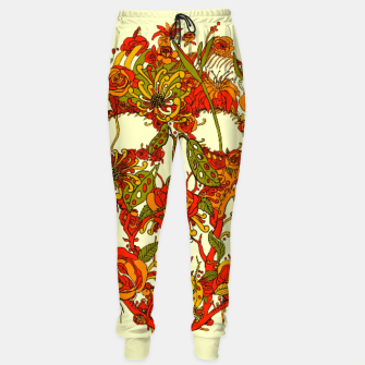 Thumbnail image of Skull Flora Sweatpants, Live Heroes
