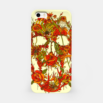 Thumbnail image of Skull Flora iPhone Case, Live Heroes