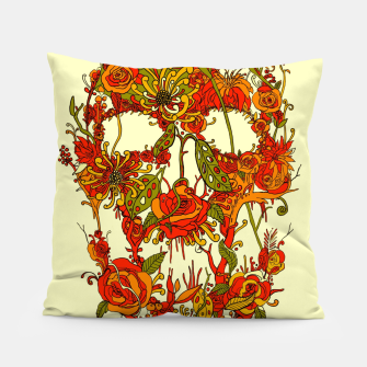 Thumbnail image of Skull Flora Pillow, Live Heroes