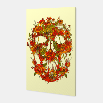 Thumbnail image of Skull Flora Canvas, Live Heroes