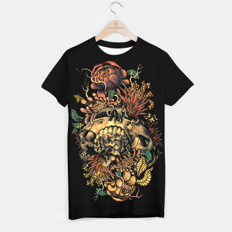 Thumbnail image of Skull Flora T-shirt, Live Heroes