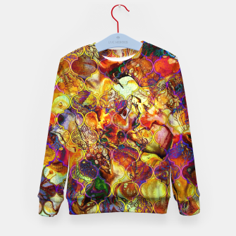 Thumbnail image of Boho Epic Moroccan Design  Kid's Sweater, Live Heroes