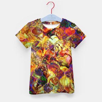 Thumbnail image of Boho Epic Moroccan Design  Kid's T-shirt, Live Heroes