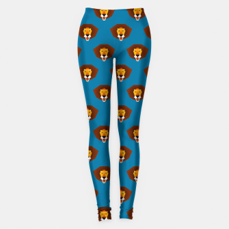 Be wild and free, little lion Leggings thumbnail image
