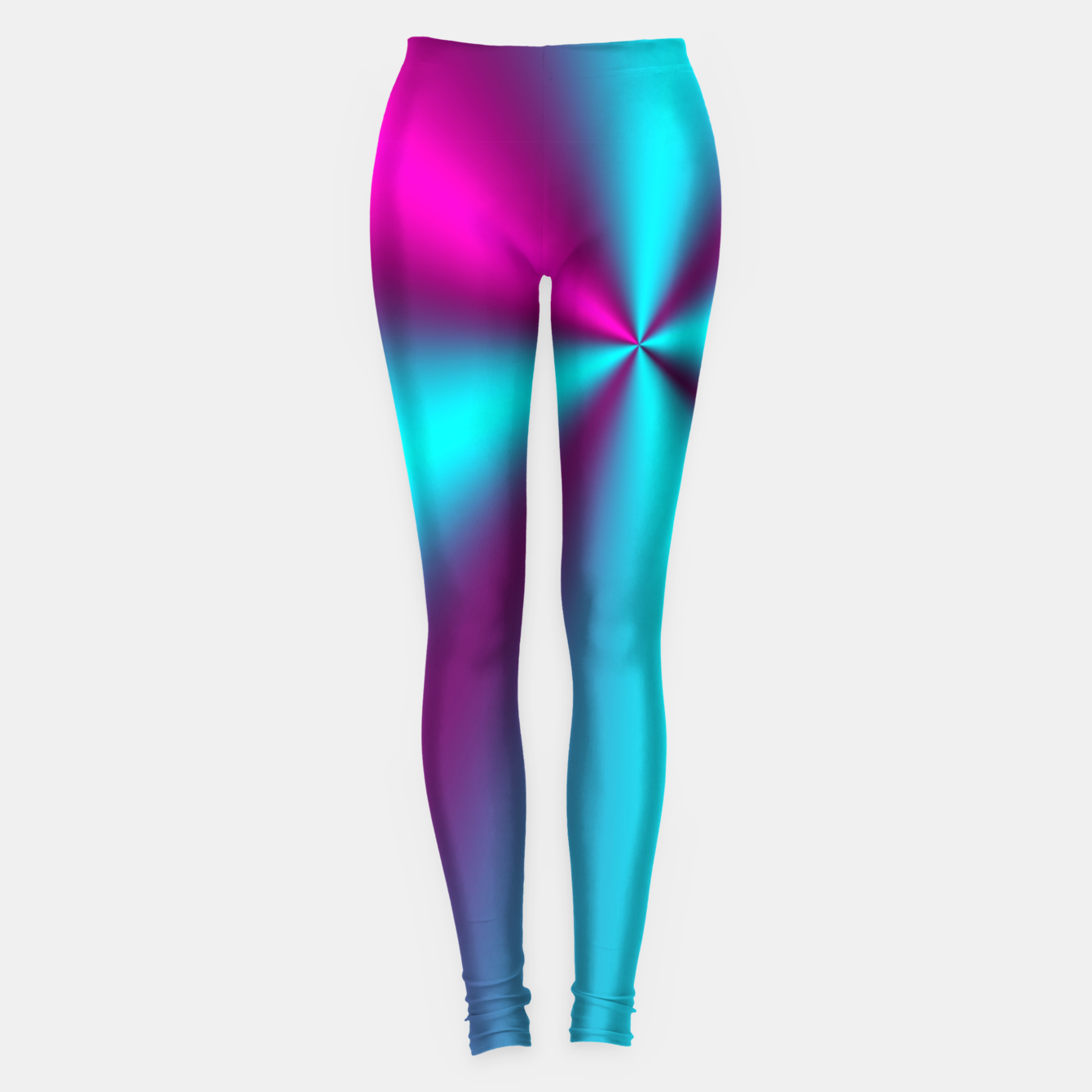 Zdjęcie Violet Illusion silk waves Leggings - Live Heroes