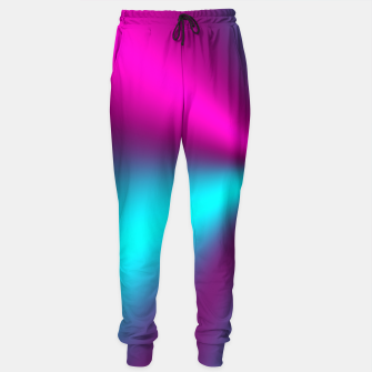 Violet Illusion silk waves Sweatpants obraz miniatury