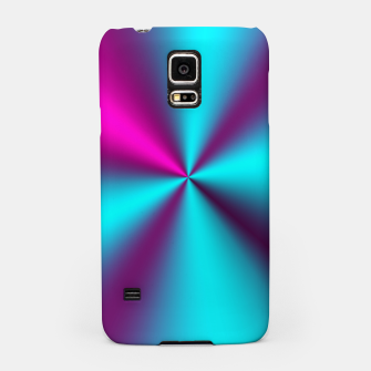 Violet Illusion silk waves Samsung Case obraz miniatury