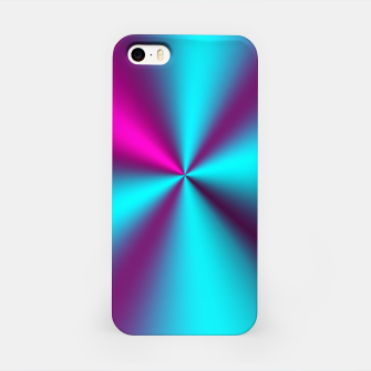 Violet Illusion silk waves iPhone Case obraz miniatury
