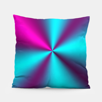 Violet Illusion silk waves Pillow obraz miniatury