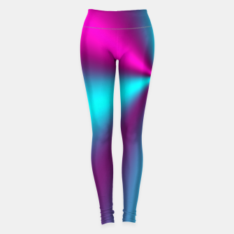 Violet Illusion silk waves Leggings obraz miniatury