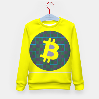 Thumbnail image of Bitcoin Friday  Kid's Sweater, Live Heroes