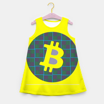 Thumbnail image of Bitcoin Friday  Girl's Summer Dress, Live Heroes