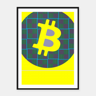 Thumbnail image of Bitcoin Friday  Framed poster, Live Heroes