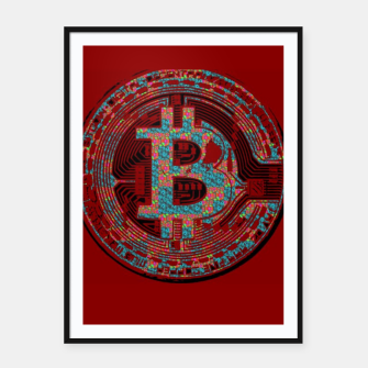 Thumbnail image of Bitcoin Friday 2 Framed poster, Live Heroes