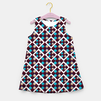 Thumbnail image of Textile Deluxe  Girl's Summer Dress, Live Heroes