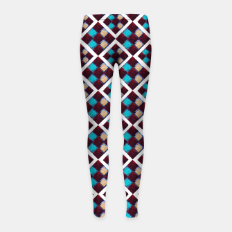 Thumbnail image of Textile Deluxe  Girl's Leggings, Live Heroes