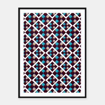 Thumbnail image of Textile Deluxe  Framed poster, Live Heroes