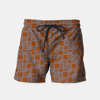 Thumbnail image of Textile Deluxe Swim Shorts, Live Heroes