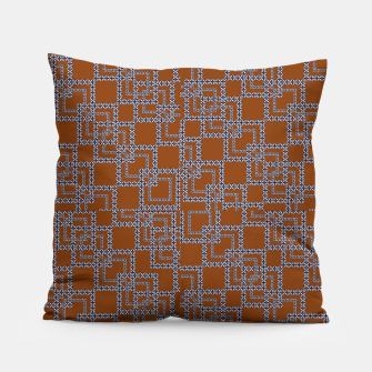 Thumbnail image of Textile Deluxe Pillow, Live Heroes