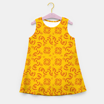 Thumbnail image of Pattern Ten Original  Girl's Summer Dress, Live Heroes