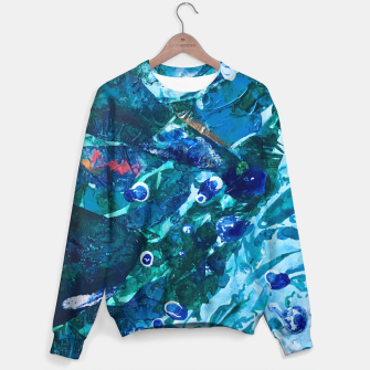 Thumbnail image of Look Into the Deep, Environmental Tiny World Collection Sweater, Live Heroes