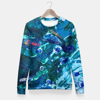 Thumbnail image of Look Into the Deep, Environmental Tiny World Collection Fitted Waist Sweater, Live Heroes