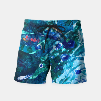 Thumbnail image of Look Into the Deep, Environmental Tiny World Collection Swim Shorts, Live Heroes