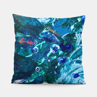 Thumbnail image of Look Into the Deep, Environmental Tiny World Collection Pillow, Live Heroes