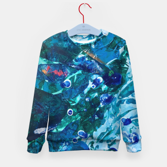 Thumbnail image of Look Into the Deep, Environmental Tiny World Collection Kid's Sweater, Live Heroes