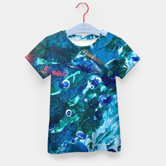 Thumbnail image of Look Into the Deep, Environmental Tiny World Collection Kid's T-shirt, Live Heroes