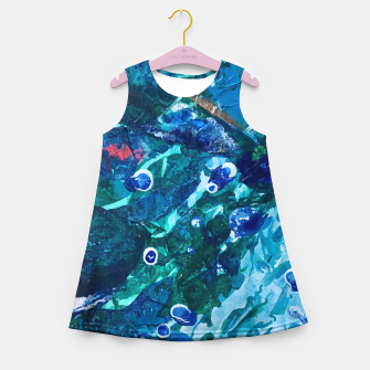Thumbnail image of Look Into the Deep, Environmental Tiny World Collection Girl's Summer Dress, Live Heroes