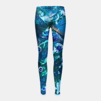 Thumbnail image of Look Into the Deep, Environmental Tiny World Collection Girl's Leggings, Live Heroes