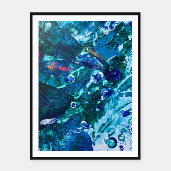 Thumbnail image of Look Into the Deep, Environmental Tiny World Collection Framed poster, Live Heroes