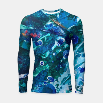 Thumbnail image of Look Into the Deep, Environmental Tiny World Collection Longsleeve Rashguard , Live Heroes