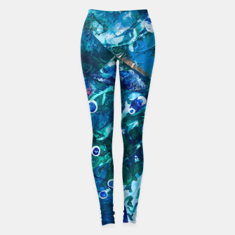 Thumbnail image of Look Into the Deep, Environmental Tiny World Collection Leggings, Live Heroes