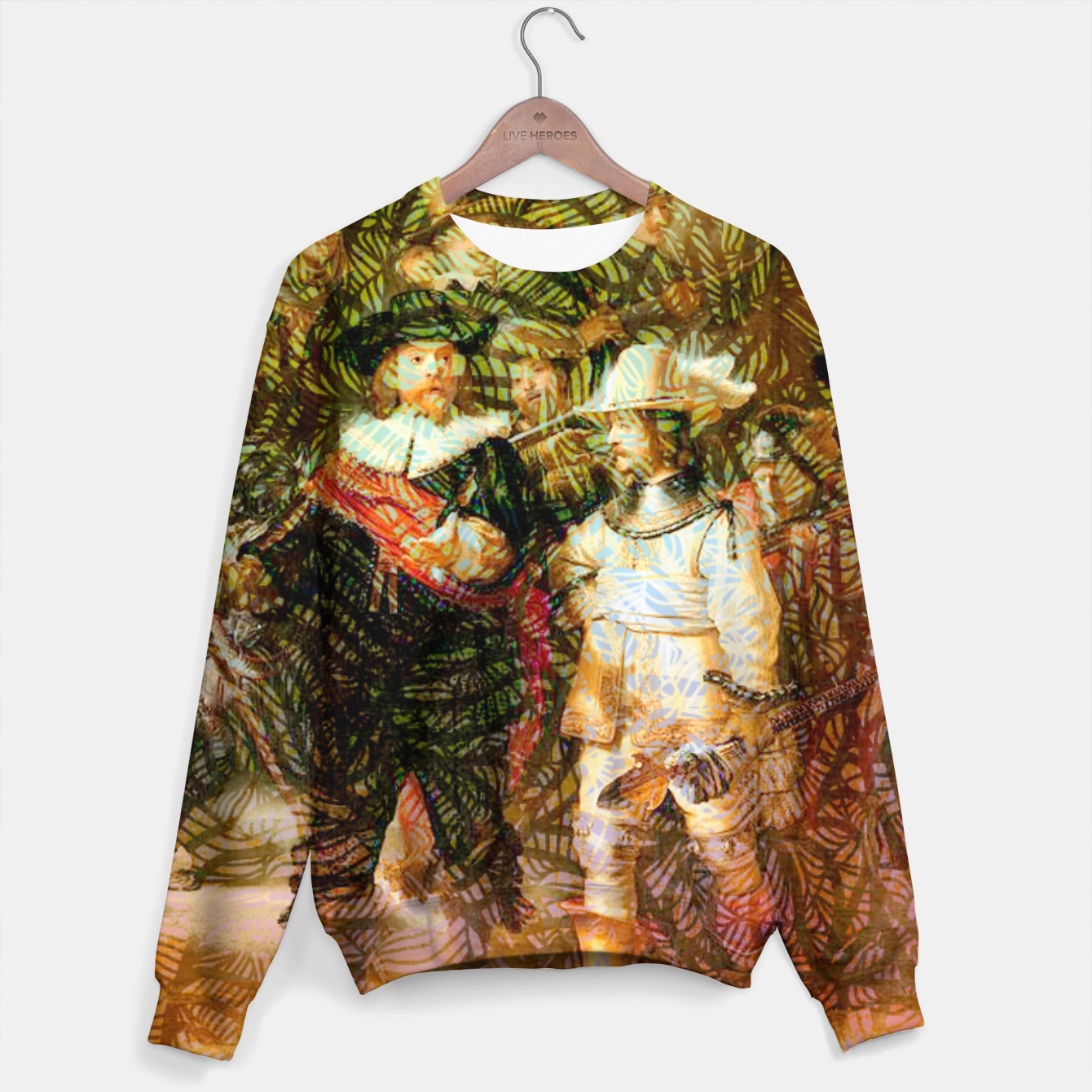 Image of Rembrandt Sweater - Live Heroes