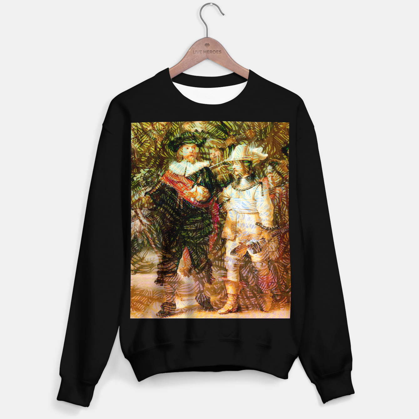 Image of Rembrandt Sweater regular - Live Heroes