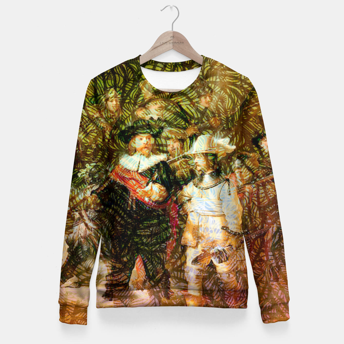 Image of Rembrandt Fitted Waist Sweater - Live Heroes