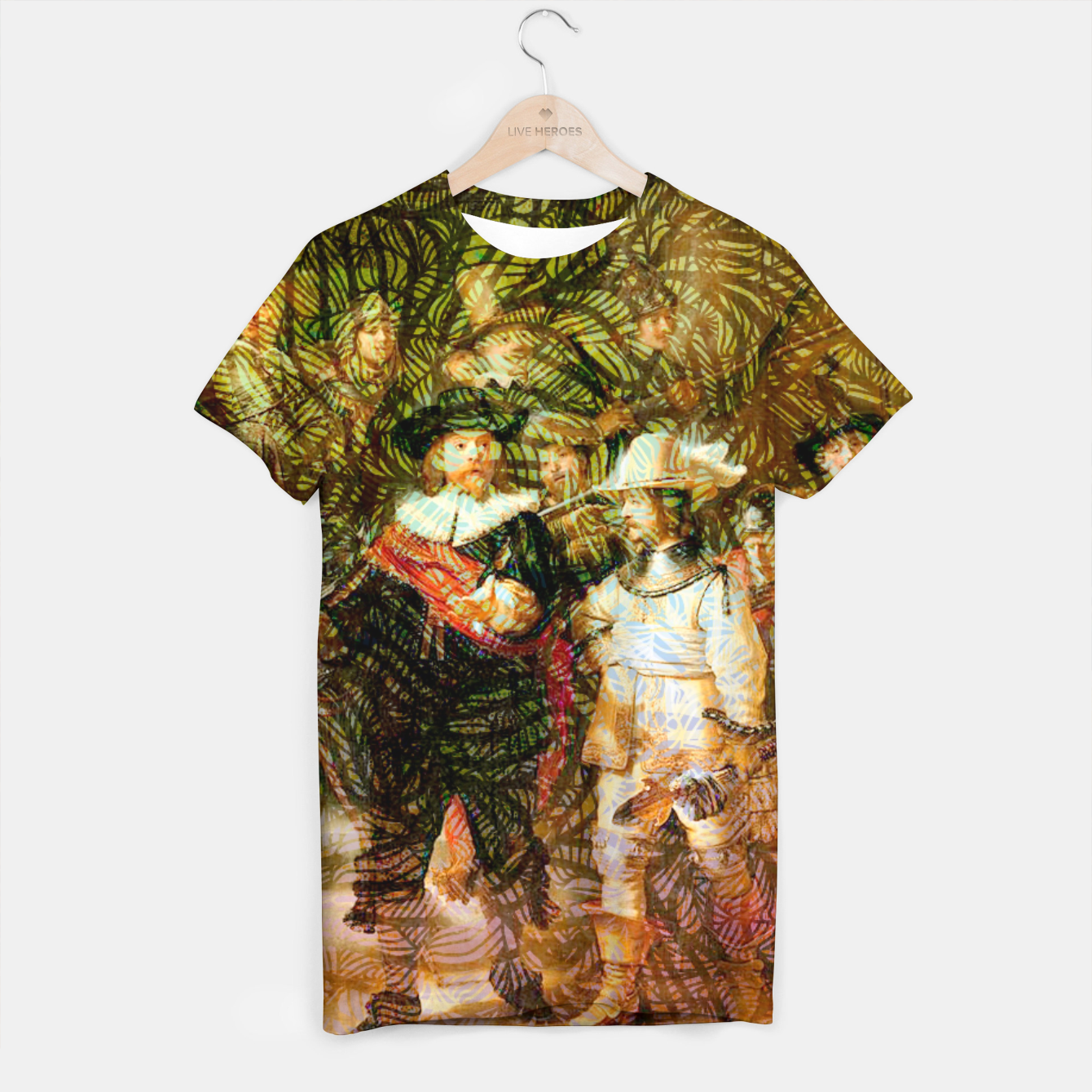 Image of Rembrandt T-shirt - Live Heroes