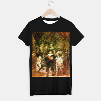 Thumbnail image of Rembrandt T-shirt regular, Live Heroes