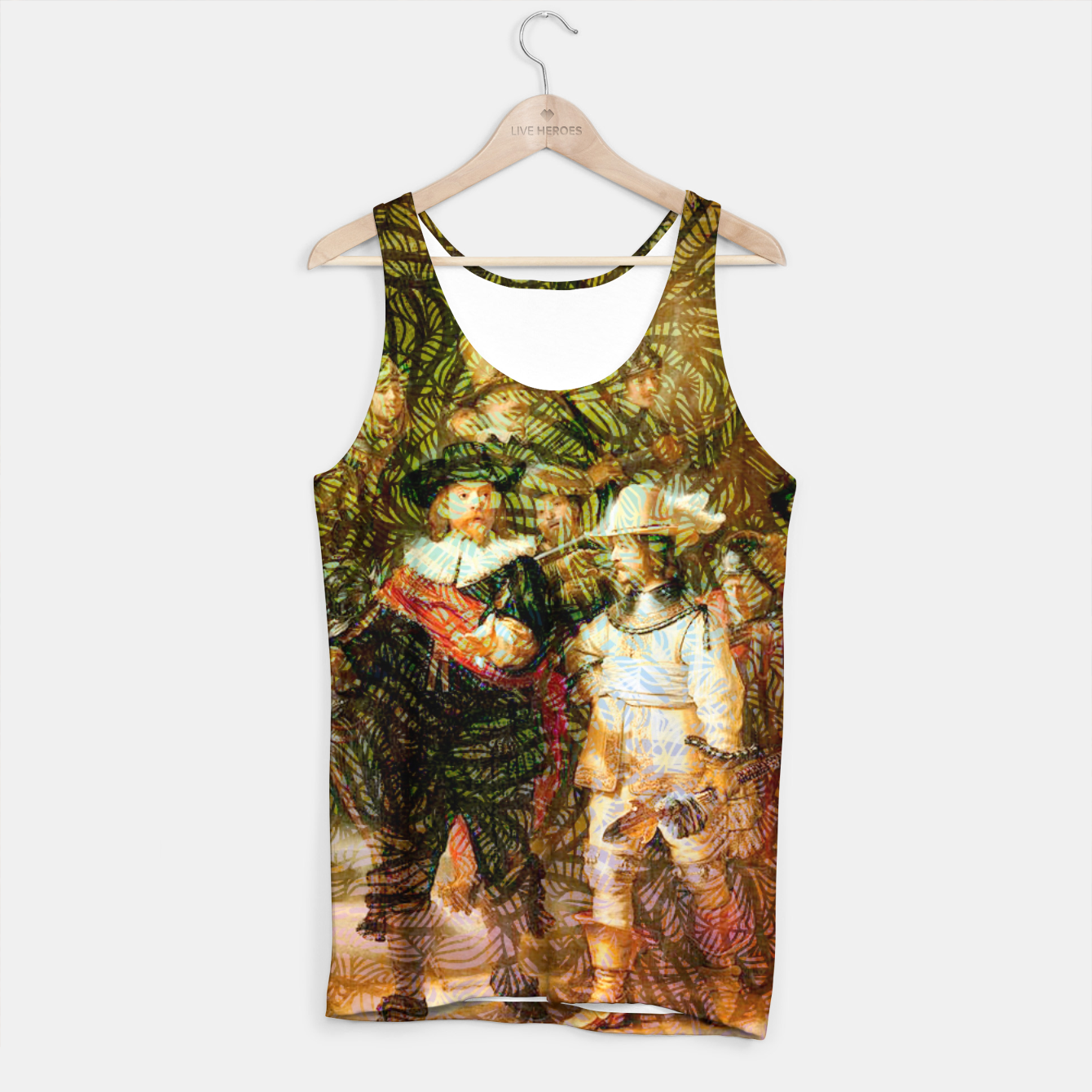 Image of Rembrandt Tank Top - Live Heroes