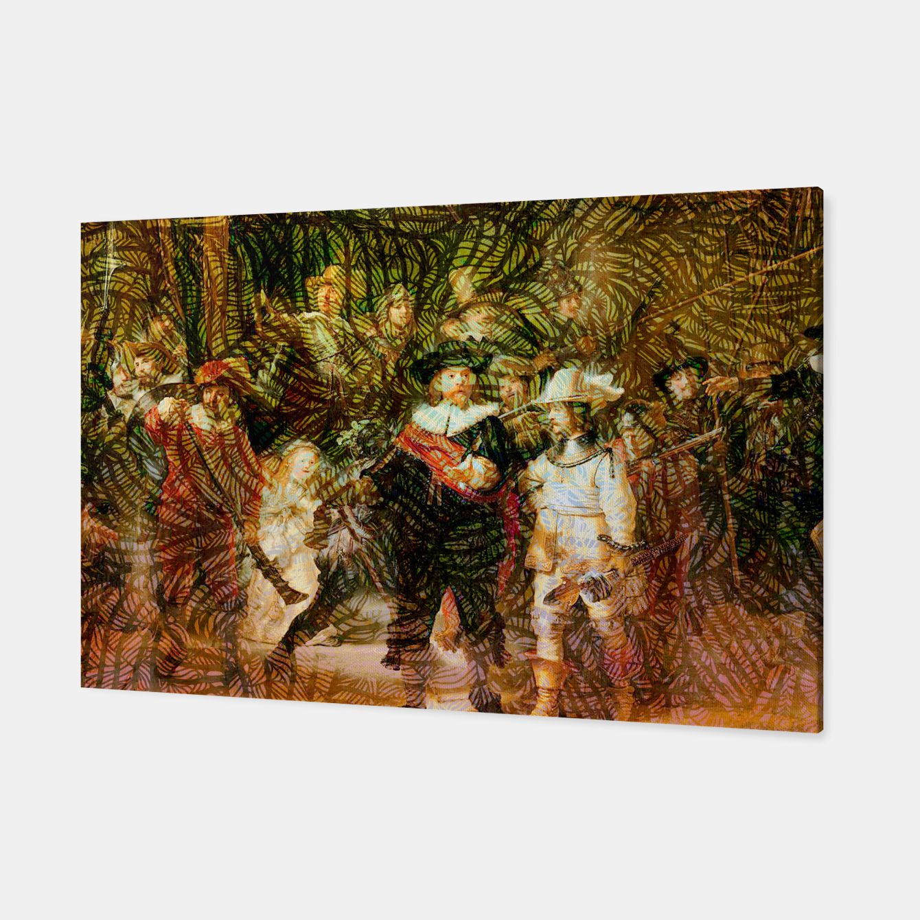 Image of Rembrandt Canvas - Live Heroes