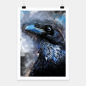 Thumbnail image of Crow Plakat, Live Heroes