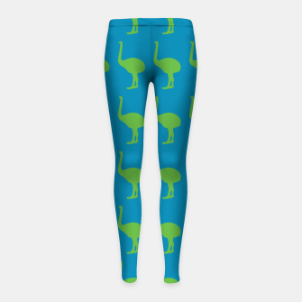 Thumbnail image of MAD MOA Wham-BowieBk Girl's Leggings, Live Heroes