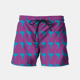 Thumbnail image of MAD MOA Bowie-CentreStageBk Swim Shorts, Live Heroes