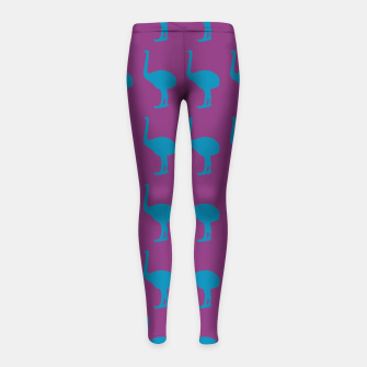 Thumbnail image of MAD MOA Bowie-CentreStageBk Girl's Leggings, Live Heroes