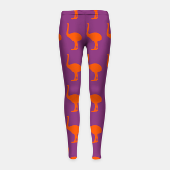 Thumbnail image of MAD MOA Adrenaline-CentreStageBk Girl's Leggings, Live Heroes