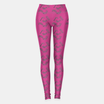 Thumbnail image of MAD MOVEMENT Smitten Leggings, Live Heroes