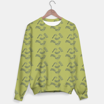 Thumbnail image of MAD MOVEMENT Flourish Sweater, Live Heroes