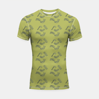 Thumbnail image of MAD MOVEMENT Flourish Shortsleeve Rashguard, Live Heroes
